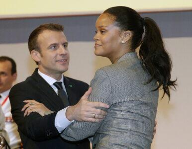 """Rihanna i Emmanuel Macron jednoczą siły. """"Mamy przed sobą długą drogę"""""""