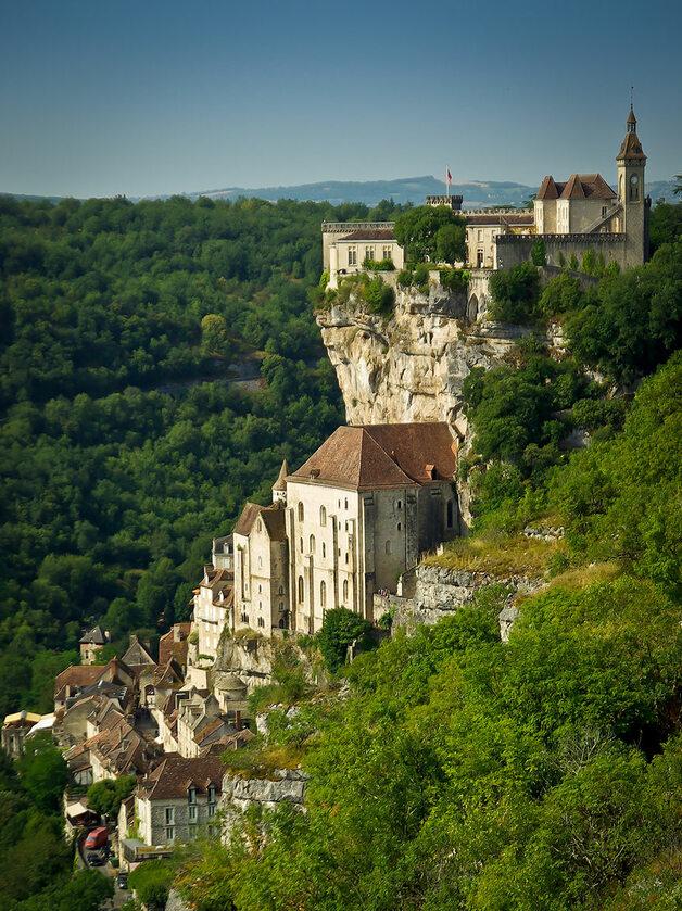 Rocamadour, Francja boredpanda.com