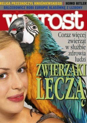 Okładka tygodnika Wprost nr 39/2004 (1139)