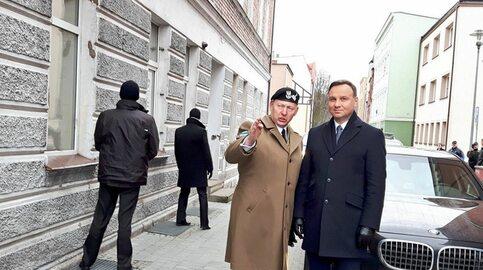 Prezydent Duda na obchodach zaślubin Polski z morzem