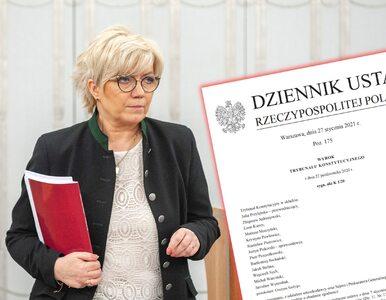 Wyrok Trybunału Konstytucyjnego ws. aborcji opublikowany w Dzienniku Ustaw