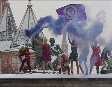 """Pussy Riot protestuje przeciwko Putinowi. """"Nie poddamy się, będziemy..."""