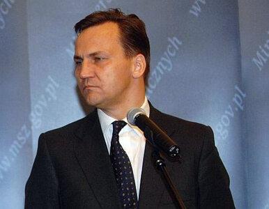 Sikorski: UE uznała działania Rosji za akt agresji. Nie wchodźcie na...
