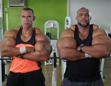 """Od 35 lat bracia """"Conan"""" i """"Hulk"""" wstrzykują sobie środek przeznaczony..."""