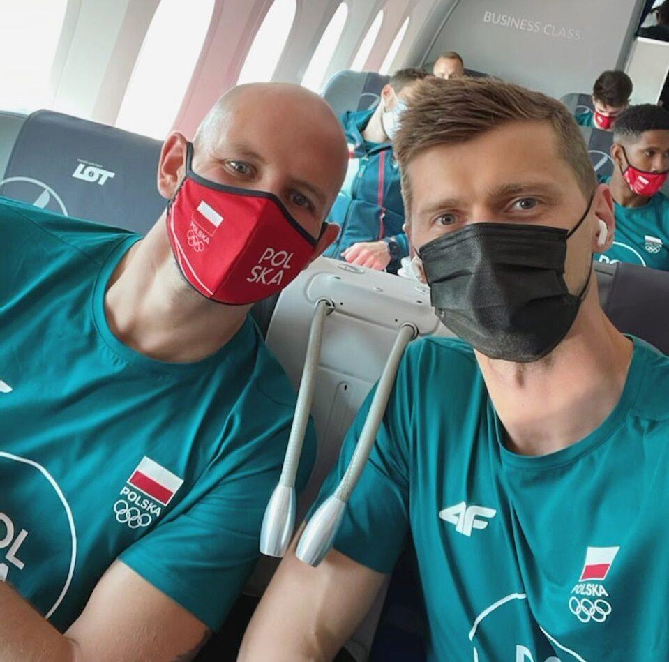 Bartosz Kurek i Piotr Nowakowski