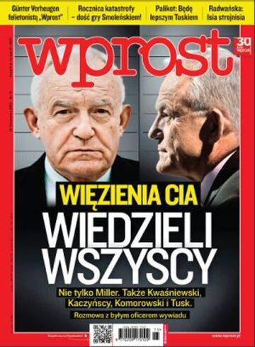 Okładka tygodnika Wprost nr 15/2012 (1521)