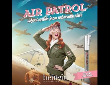 AIR PATROL - Jesienna Nowość od Benefit Cosmetics