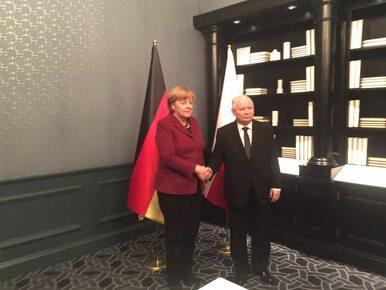 Kaczyński po spotkaniu z Merkel: Można mówić o pewnym postępie,...
