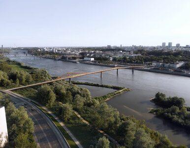W Warszawie powstanie most pieszo-rowerowy. Mamy wizualizacje