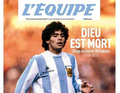 Maradona na czołówkach gazet z całego świata. Tak żegnana jest legenda...