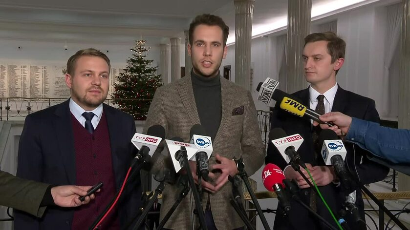 Dawid Ozdoba, Jan Kanthak i Sebastian Kaleta