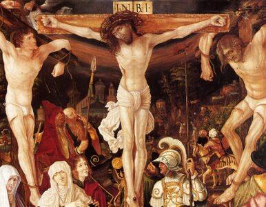 Dobry Łotr: Ukrzyżowany z Chrystusem miał nawrócić się tuż przed...