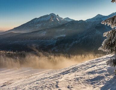 Śnieg znowu zaatakował. Czwarty stopień zagrożenia lawinowego w Tatrach,...