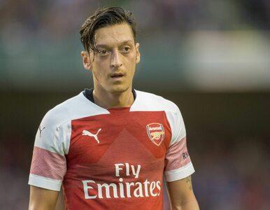 Ozil uciekał, kolega z Arsenalu odstraszał napastników. Incydent...