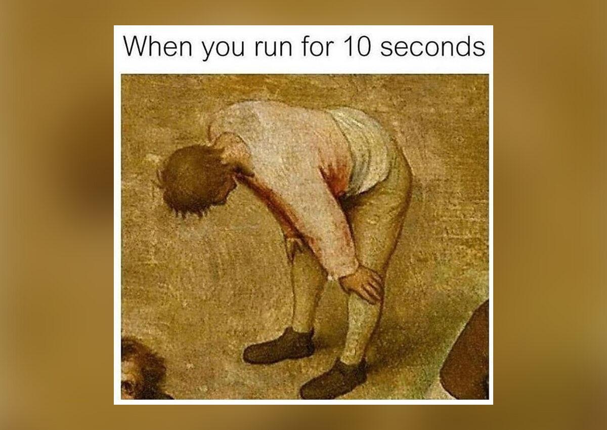 Kiedy biegałeś przez 10 sekund