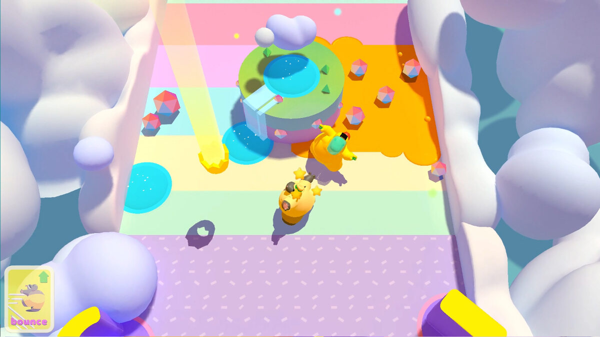 Clumsy Rush - grafika promująca gscreen z gry