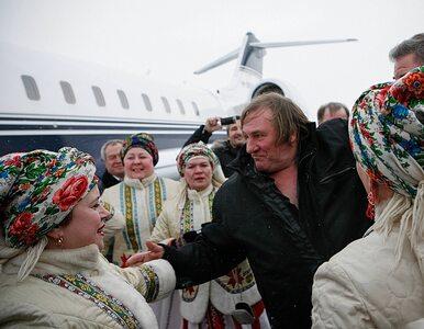 Moskwa: Depardieu miał wypadek, przez policjanta