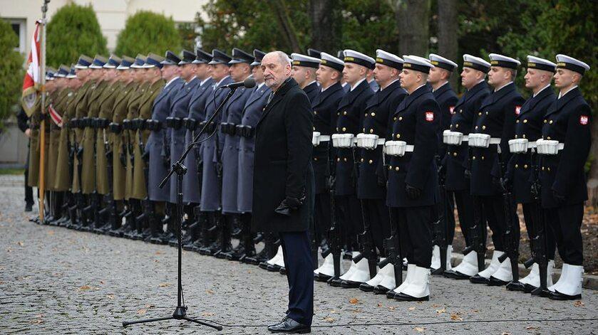 Antoni Macierewicz na uroczystości wręczania nominacji