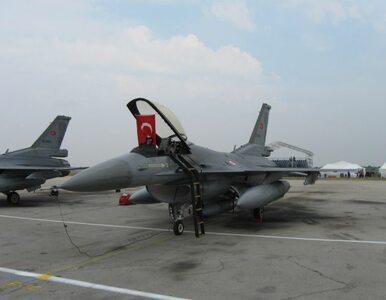 Tureckie F-16 zmusiły syryjski samolot do lądowania