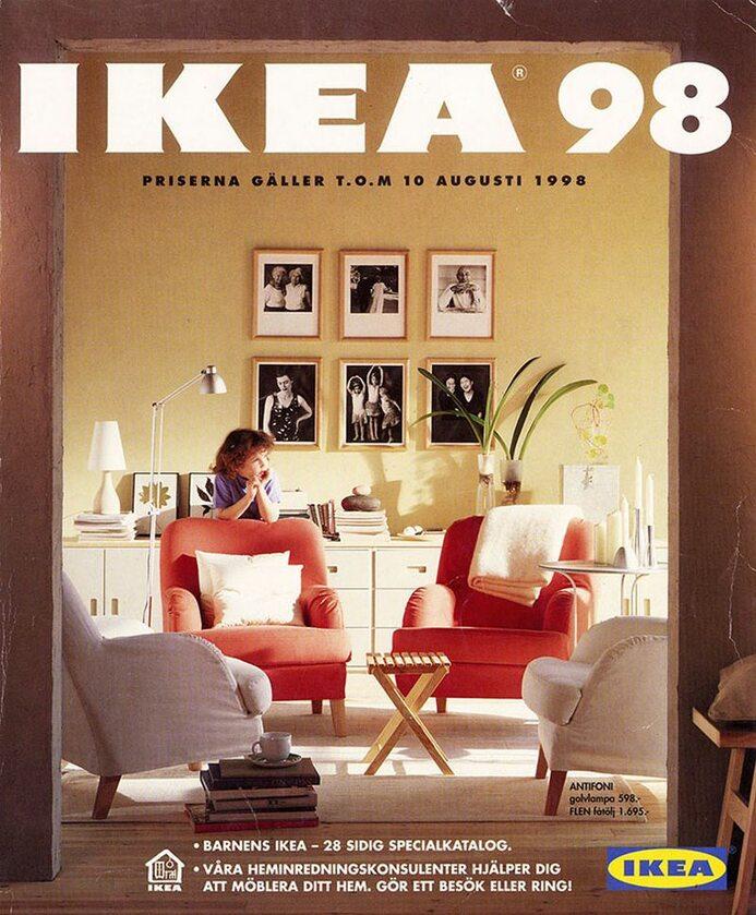 Okładka katalogu IKEA z 1998 roku