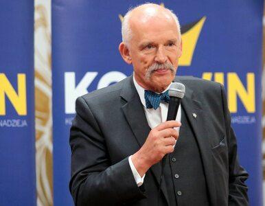 Janusz Korwin-Mikke wróci do Brukseli? To plan awaryjny na wypadek...