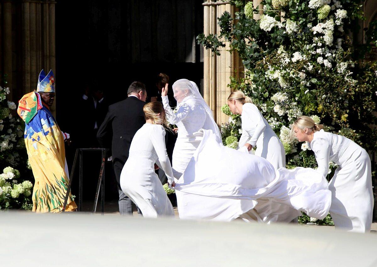 Ellie Goulding w sukni ślubnej