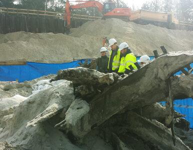 Robotnicy odnaleźli... wrak statku w Świnoujściu