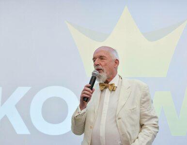 Janusz Korwin-Mikke miał wypadek. Przeszedł operację