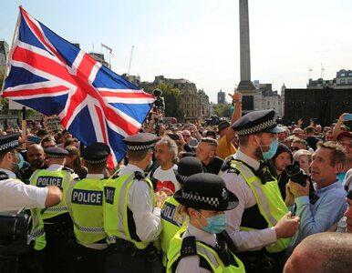 Londyn. Setki ludzi protestowały przeciw ograniczeniom związanym z pandemią