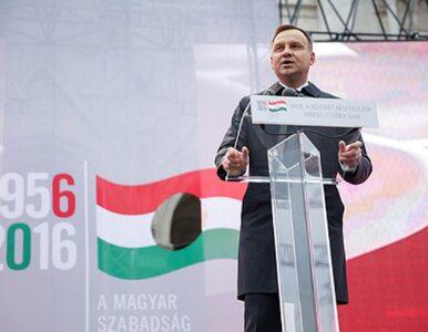 """Prezydent Duda w Budapeszcie. """"Węgrzy zawsze byli przyjaciółmi Polaków"""",..."""