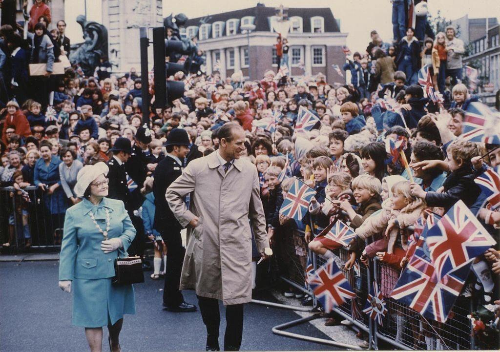 Książę Filip w 1977 roku