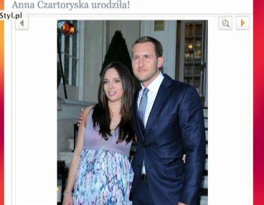Anna Czartoryska została mamą