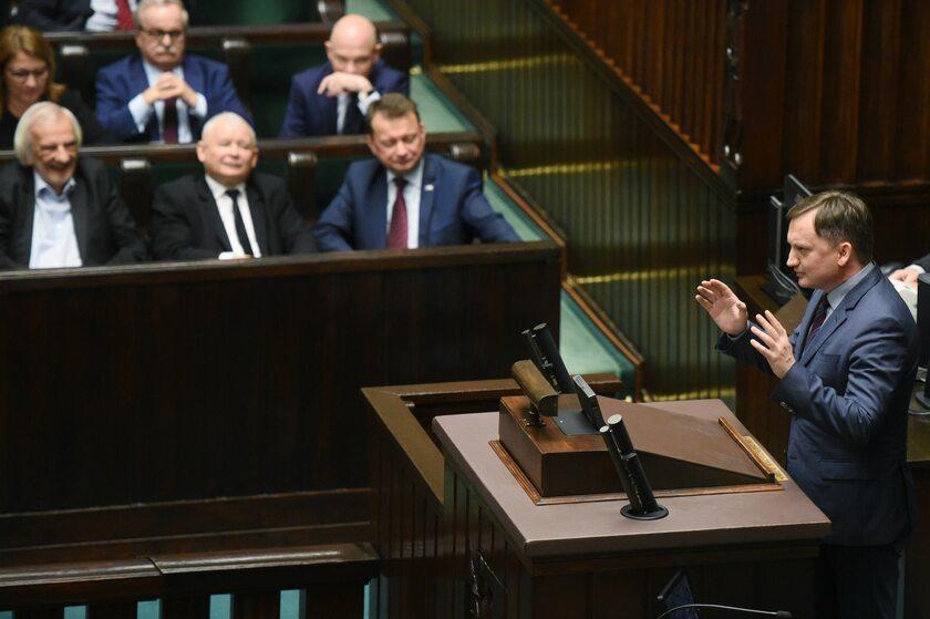 Ławy PiS, Sejm