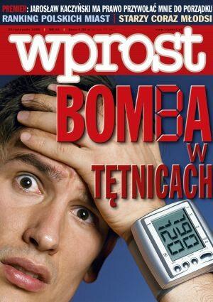 Okładka tygodnika Wprost nr 46/2005 (1198)