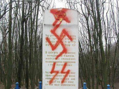 """Swastyka na pomniku ofiar Holocaustu. """"Zaplanowana prowokacja"""""""
