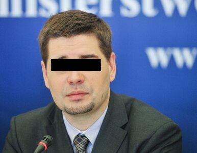 Zarzuty dla byłego wiceministra. Grozi mu do 10 lat więzienia
