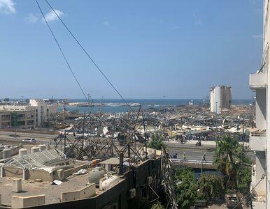 """""""Wybuch w tragiczny sposób wpycha Liban na bardzo złą drogę"""". Tak..."""