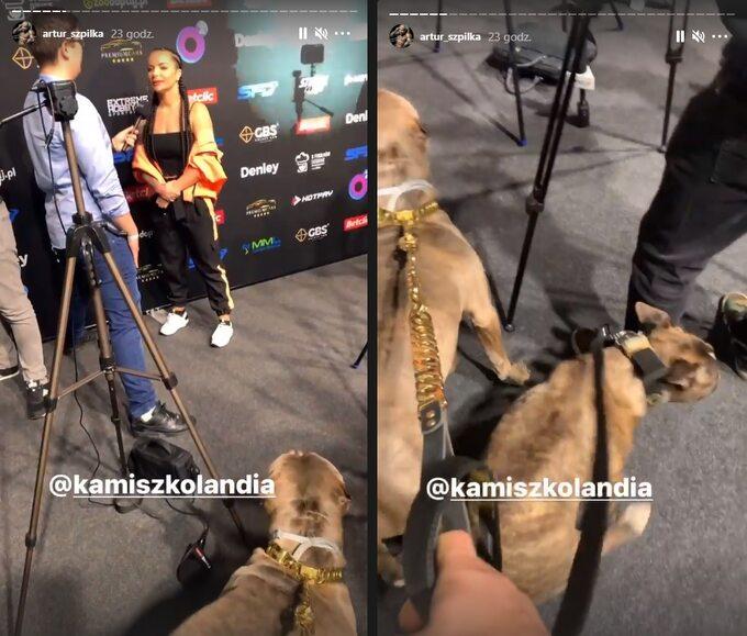 Artur Szpilka zpsami nakonferencji przed galą FAME MMA 9