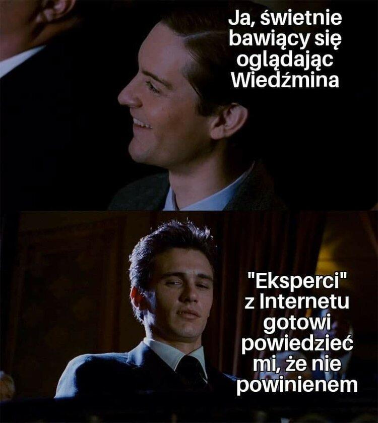 """Mem inspirowany serialem """"Wiedźmin"""""""