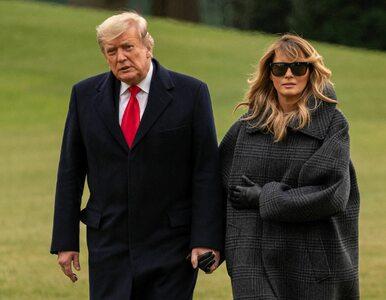 Trump podsumował swoją kadencję. Rozpoczął od podziękowania Melanii
