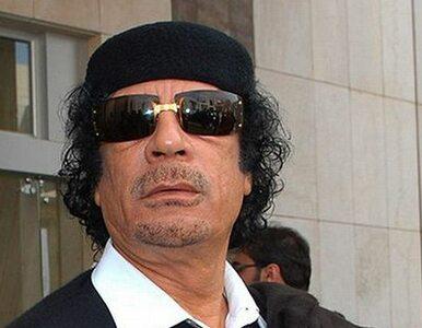 Kadafi apeluje do ONZ o ochronę jego miasta rodzinnego