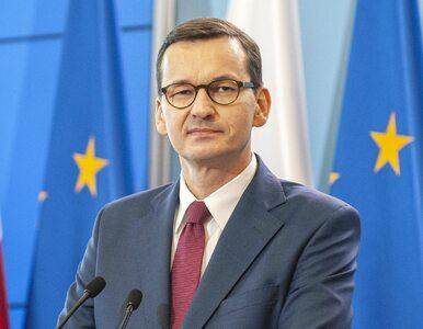 """Premier Morawiecki mówił o """"polskich wartościach"""". """"Nie jakieś fanaberie..."""