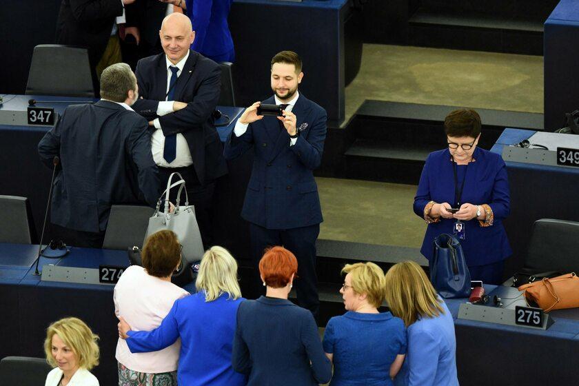 Polscy europosłowie w Parlamencie Europejskim