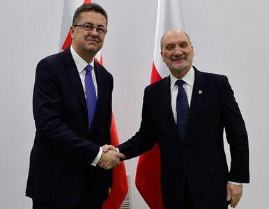 Macierewicz spotkał się z szefem MON Słowacji. Rozmawiali m.in. o CEK NATO