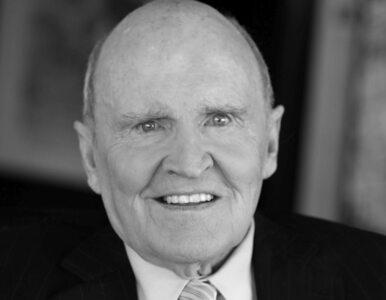 Nie żyje Jack Welch, wieloletni szef koncernu General Electric