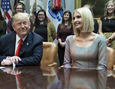 """Trump twierdzi, że jego córka stworzyła 14 mln miejsc pracy. """"Ta liczba..."""