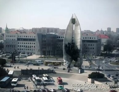 Studenci w filmie ożywili rzeszowski pomnik