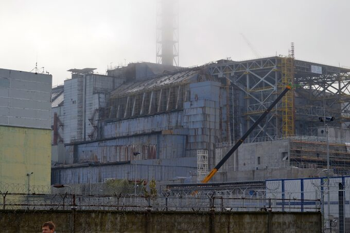 Blok IV wCzarnobylu
