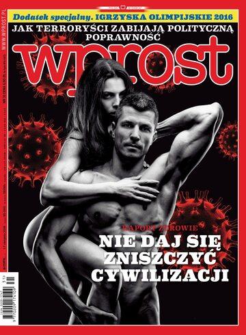 Okładka tygodnika Wprost nr 31/2016 (1747)