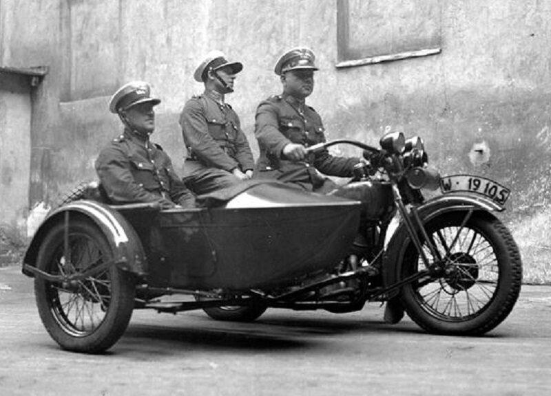 Patrol Policji Drogowej (1932 r.)